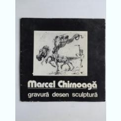 Marcel Chirnoaga - album expozitie  (gravura, desen, sculptura)