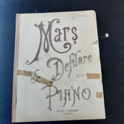 MARS DE DEFILARE PENTRU PIANO, PARTITURA