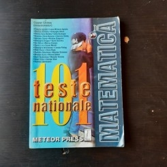 MATEMATICA, 101 TESTE NATIONALE