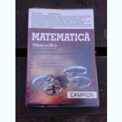 MATEMATICA CLASA A IX-A, FILIERA TEORETICA - MARIUS BURTEA