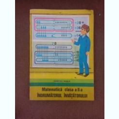 Matematica clasa II-a, indrumatorul invatatorului - Dumitru Rosca