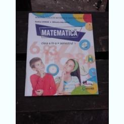 MATEMATICA CLASA IV-A SEMESTRUL I - RODICA CHIRAN  CONTINE CD