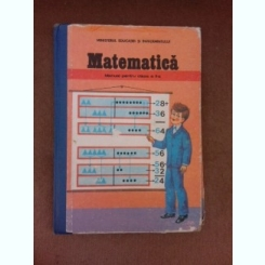 Matematica, manual pentru clasa a II-a