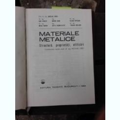MATERIALE METALICE - NICOLAE GERU