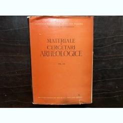 MATERIALE SI CERCETARI ARHEOLOGICE, VOLUMUL.VI,1959