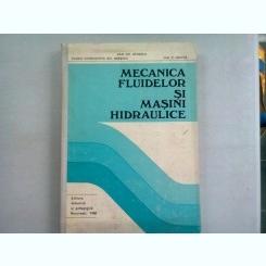 MECANICA FLUIDELOR SI MASINI HIDRAULICE - DAN GH. IONESCU