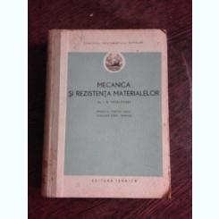 MECANICA SI REZISTENTA MATERIALELOR - I.N VESELOVSKI