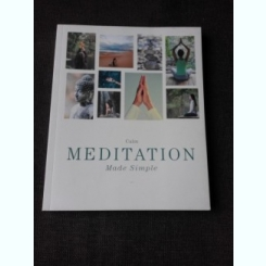 MEDITATION,  MADE SIMPLE (CARTE IN LIMBA ENGLEZA)