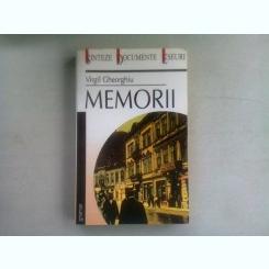 MEMORII - VIRGIL GHEORGHIU