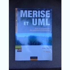 Merise et UML, pour la modelisation des systemes d,information - Joseph Gabay  (carte in limba franceza)