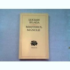 MESTERUL MANOLE - LUCIAN BLAGA  (DRAMA)