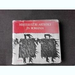 MESTESUGURI ARTISTICE IN ROMANIA , OLGA HORSIA , 1972