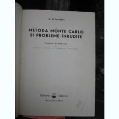 METODA MONTE CARLO SI PROBLEME INRUDITE - S.M. ERMAKOV