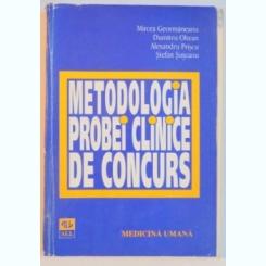 METODOLOGIA PROBEI CLINICE DE CONCURS DE MIRCEA GEORMANEANU...STEFAN SUTEANU
