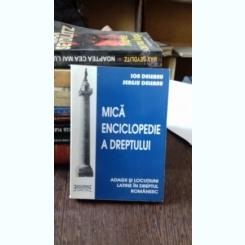 MICA ENCICLOPEDIE A DREPTULUI - ION DELEANU