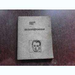 Micropoeme si alte poezii Aurel Rau