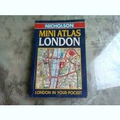 MINI ATLAS LONDON - NICHOLSON