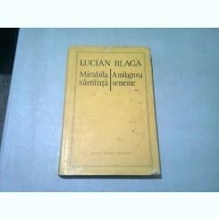 MIRABILA SAMANTA - LUCIAN BLAGA  EDITIE BILINGVA ROMANA/PORTUGHEZA