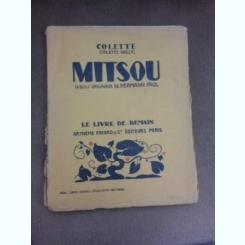 Mitsou, 16 bois originaux de Hermann Paul - Colette Willy  (carte in limba francza)
