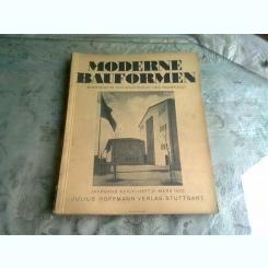 MODERNE BAUFORMEN NR.3/1935  - REVISTA DE ARHITECTURA