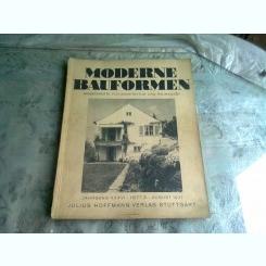 MODERNE BAUFORMEN NR.8/1937  - REVISTA DE ARHITECTURA