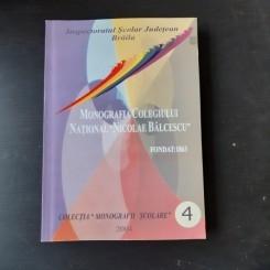 MONOGRAFIA COLEGIULUI NATIONAL NICOLAE BALCESCU