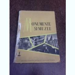 Monumente si muzee, buletinul comisiei stiintifice a muzeelor si monumentelor istorice si artistice, 1958