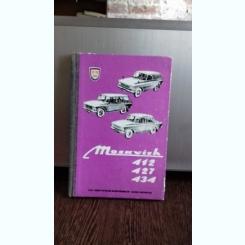 MOSKVICH 412, 427, 434