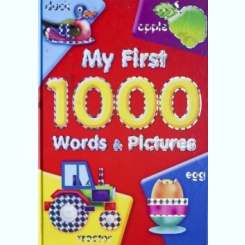 MY FIRST 1000, WORDS AND PICTURES