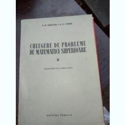 N. M. Ghiunter, R. O. Cuzmin - Culegere de probleme de matematici superioare, vol. II