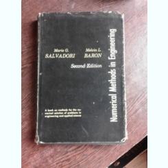NUMERICAL METHODS IN ENGINEERING - MARIO C. SALVADORI  (TEXT IN LIMBA ENGLEZA)