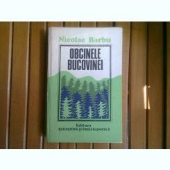 OBCINELE BUCOVINEI - NICOLAE BARBU