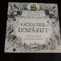 Oceanul disparut, carte de colorat antistres