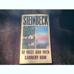Of Mice and Men/Cannery Row -  John Steinbeck  (carte in limba engleza)