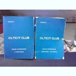 OLTCIT CLUB, MANUAL DE REPARATIE, 2 VOLUME IN LIMBA FRANCEZA