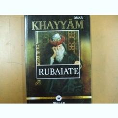 Omar Khayam Rubaiate