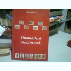 ONOMASTICA ROMANEASCA - VIORICA GOICU