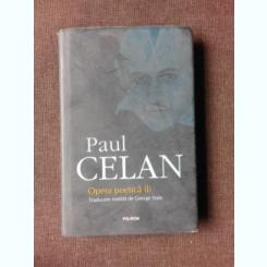 OPERA POETICA - PAUL CELAN