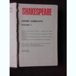 OPERE COMPLETE 1 - SHAKESPEARE