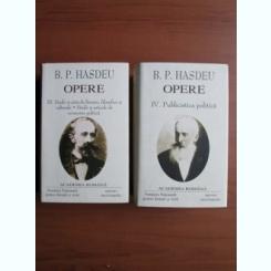 OPERE DE B.P. HASDEU III-IV