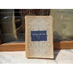 OPERE VOLUMUL 2 - RICHARD II NEGUTATORUL DIN VENETIA IULIU CEZAR , Shakespeare , 1955