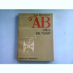 ORA DE NISIP - ANA BLANDIANA