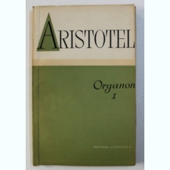 ORGANON-ARISTOTEL VOL 1