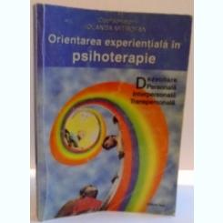 ORIENTAREA EXPERIENTIALA IN PSIHOTERAPIE , 2000
