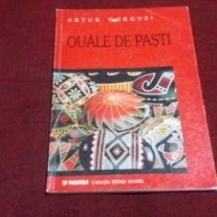 OUALE DE PASTI. STUDIU DE FOLCLOR - ARTUR GOROVEI