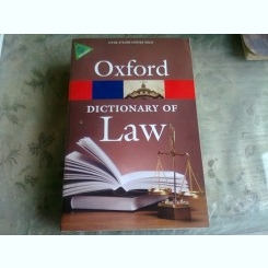 OXFORD, DICTIONARY OF LAW