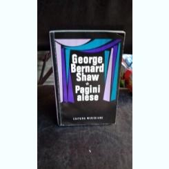 Pagini alese - George Bernard Shaw