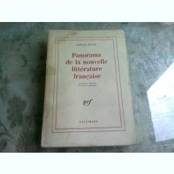 PANORAMA DE LA NOUVELLE LITTERATURE FRANCAISE