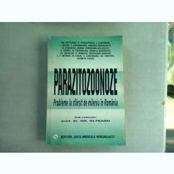 PARAZITOLOGIE. PROBLEME LA SFARSIT DE MILENIU IN ROMANIA - COLECTIV DE AUTORI, COORONATOR GH. OLTEANU
