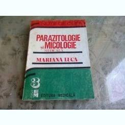 PARAZITOLOGIE SI MICOLOGIE MEDICALA - MARIANA LUCA   (NOTE DE CURS)